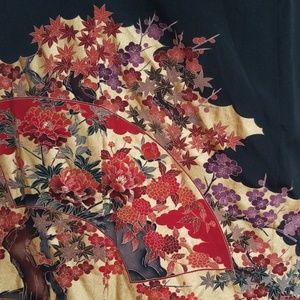 Formal Flower & Bird Kimono Tomesode
